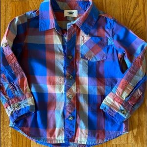 Boys Old Navy button-up shirt